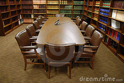 Conference Room in Law Office