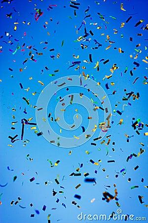 Free Confetti Celebration Stock Photography - 17042562