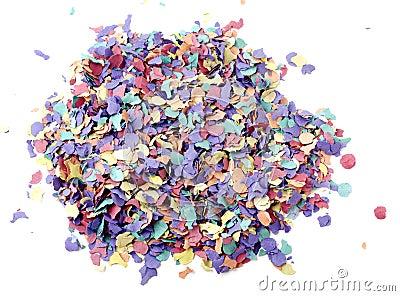 Confetti stack