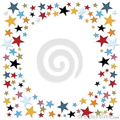 Confetti, stars
