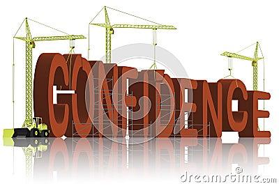 Confidence building be self confident belief