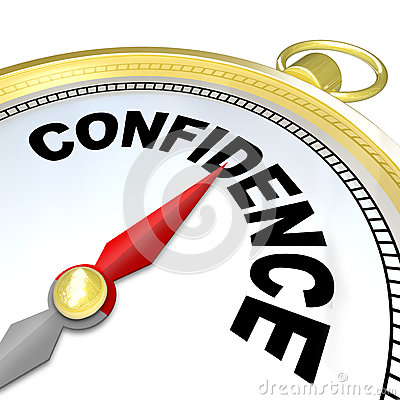 Free Confidence - Compass Leads You To Success And Growth Royalty Free Stock Image - 29536816