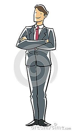 Confidence executive.