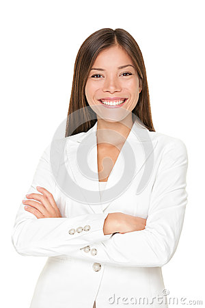 Free Confident Asian Businesswoman Royalty Free Stock Photography - 28039357