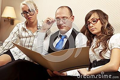 Confident associates