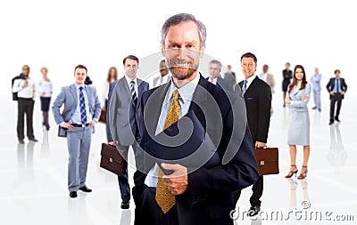Confident business man
