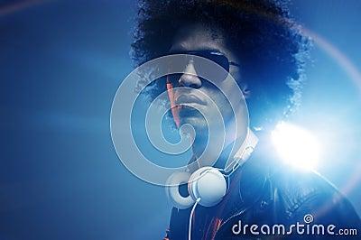 Confident DJ