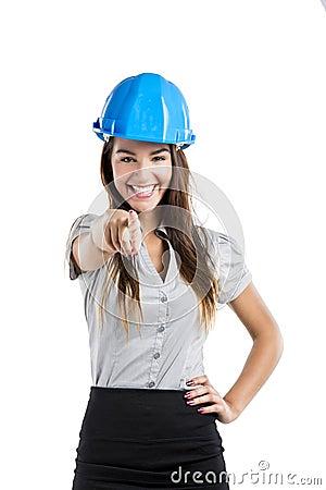 Free Confident Female Architect Royalty Free Stock Photography - 30661797