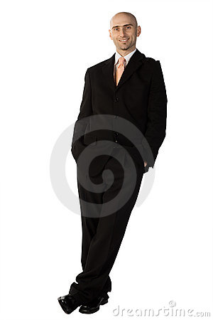 Free Confident Man In Suit Stock Image - 4389431