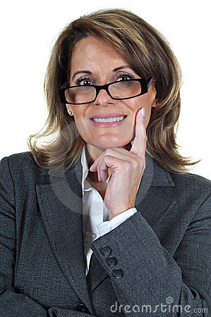 Confident Mature Business Woman
