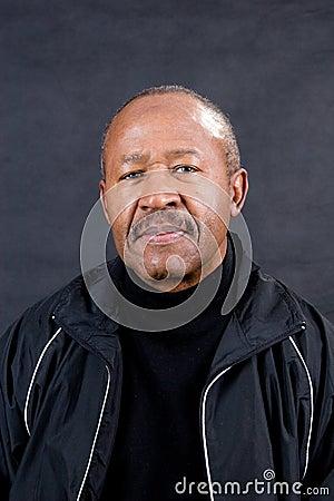 Confident retired man