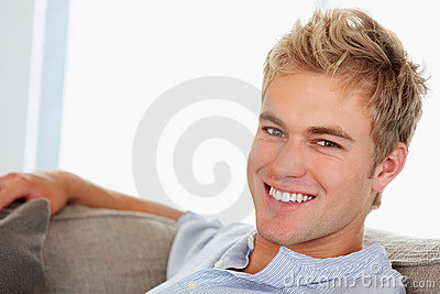 A Confident Smart Male Smiling Confidently Royalty Free Stock Photography - Image: 8816097