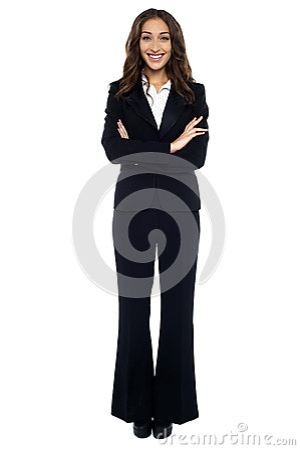 Free Confident Smiling Businesswoman Royalty Free Stock Photo - 28797295