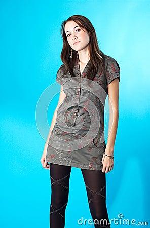 Free Confident Teen Girl Stock Image - 1445901