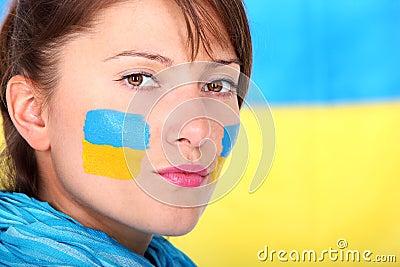 Confident Ukrainian girl