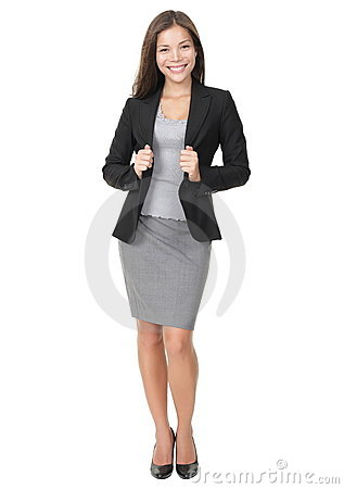 Free Confident Young Businesswoman Royalty Free Stock Photo - 15619425