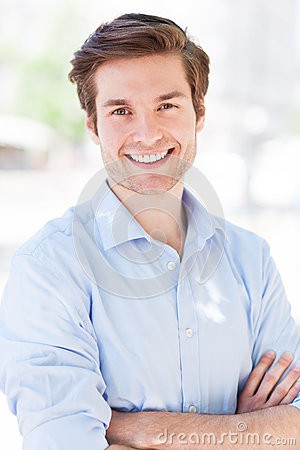 Free Confident Young Man Royalty Free Stock Photography - 31408287