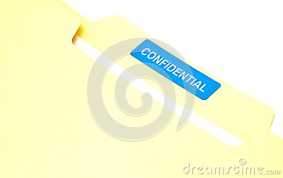 Confidential Business Document File