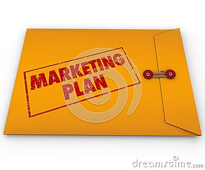 Confidential Marketing Plan Envelope Secret Strategy