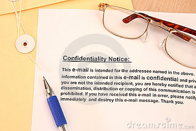 Confidentiallity Notice