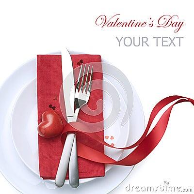 Configuración del vector de la tarjeta del día de San Valentín