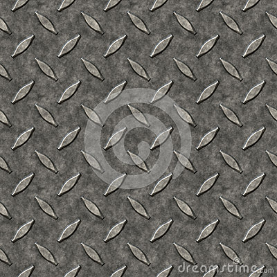 Configuration en métal de plaque de diamant