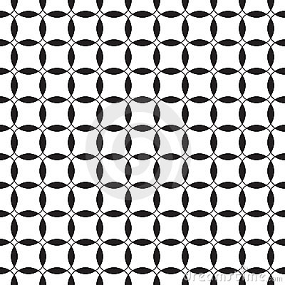 Configuration sans joint noire et blanche