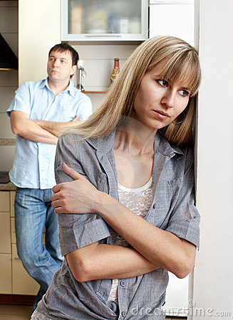 Free Conflict Between Man And Woman Stock Images - 17919674