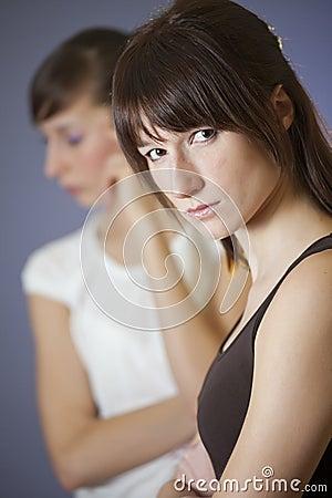 Conflict between female friends