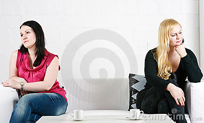 Conflict between two women