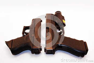 Confronto della pistola