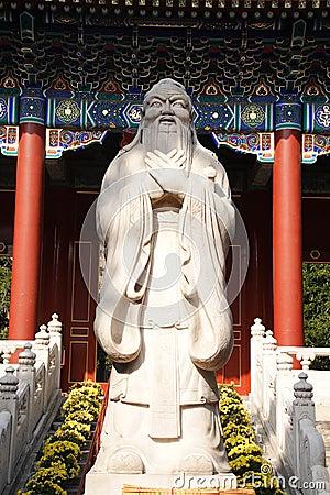 Confucius statue Editorial Image