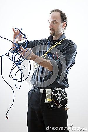 Confuse technician