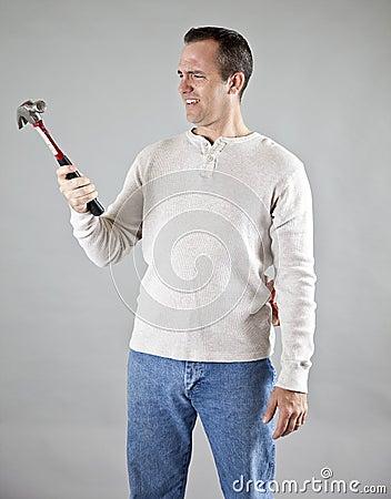 Confused handyman