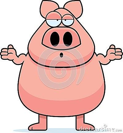 Confused Pig