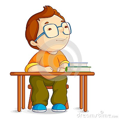 Confused School Boy