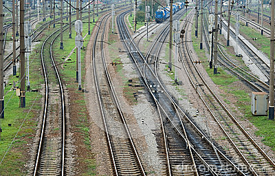 Confusing railway