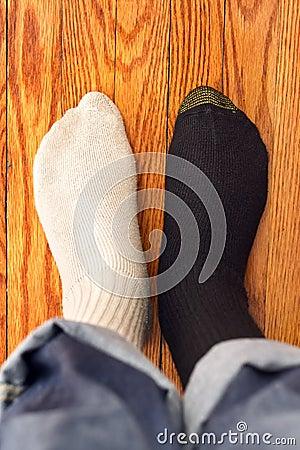 Confusing socks