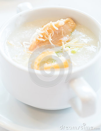 Free Congee Rice Porridge Royalty Free Stock Image - 77613476
