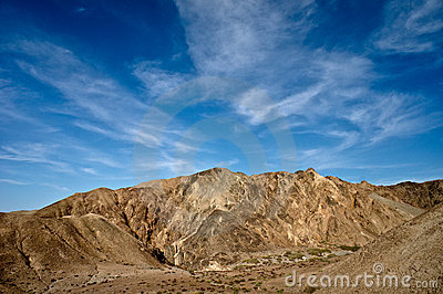 Conglomerate mountains