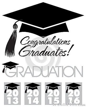 Congratulations Graduates Cap/eps