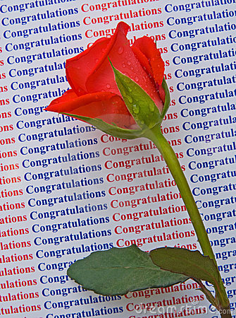 Congratulations On Your Success. Stock Photos - Image: 12732753