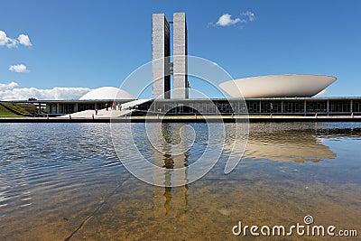 Congress in Brasilia Capital of Brazil