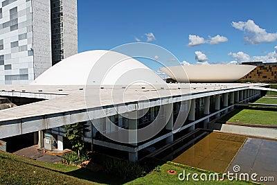 Congress Building Brasilia Distrito Federal