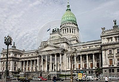 Congress Building Buenos Aires Argentina Editorial Stock Image