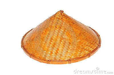 Conical Straw Hat