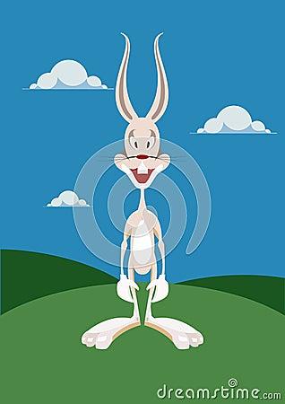 Coniglio divertente