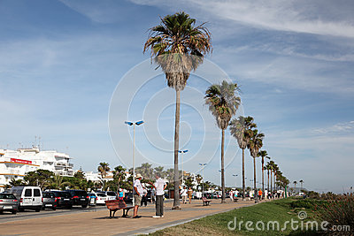Conil de la Frontera, Spain Editorial Photography