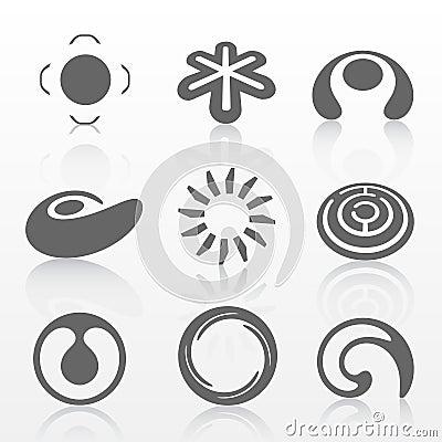 Conjunto de la insignia