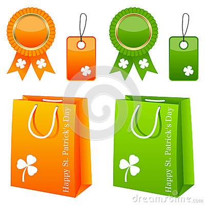 Conjunto de la venta del día de St Patrick s
